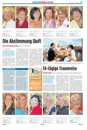 Die Abstimmung läuft - Modehaus Schneider