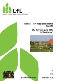 Qualität - ein missverstandener Begriff? - Bayerische Landesanstalt ...