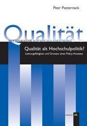 Lemmens - Qualität - Peer Pasternack
