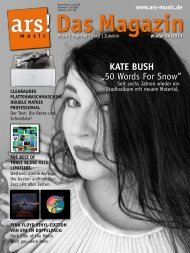 """KATE BUSH """"50 Words For Snow"""" - Ars"""