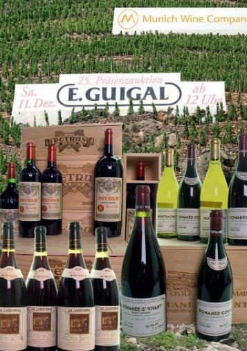 auktion erlesener weine - Munich Wine Company
