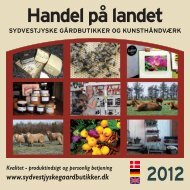 Handel på landet 2012 - Sydvestjyske Gårdbutikker