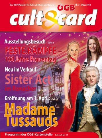 Sister Act im Ronacher Seite 11 Eröffnung am 1. April