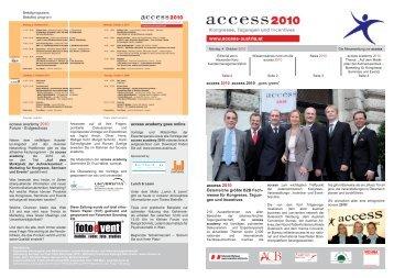 access 2010 Zeitung 1.Tag - access austria