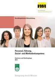 Personal, Führung, Sozial - Württembergische Verwaltungs