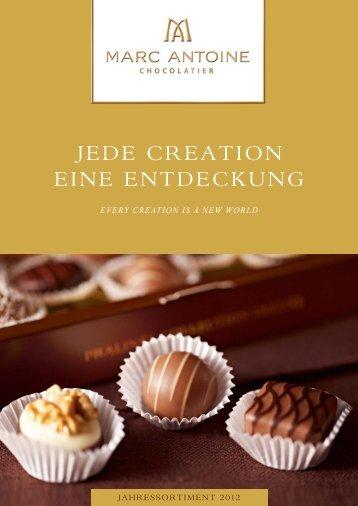 Jahreskatalog 2012 - Läderach chocolatier suisse