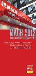 UnSer PrOGraMM Und UnSere tHeMen - MACH AG