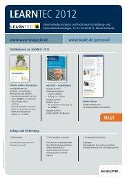 learntec [pdf, 243 kb] - Mediadaten Haufe Lexware