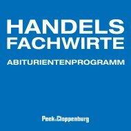 ABITURIENTENPROGRAMM - Peek & Cloppenburg KG