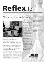 Zur Person - Reflex - Kieser Training