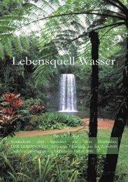 Lebensquell Wasser Magazin.indd - Der Lebensquell