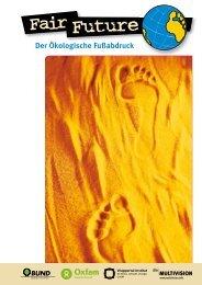 Ökologischen Fußabdruck - Technische Universität Dresden