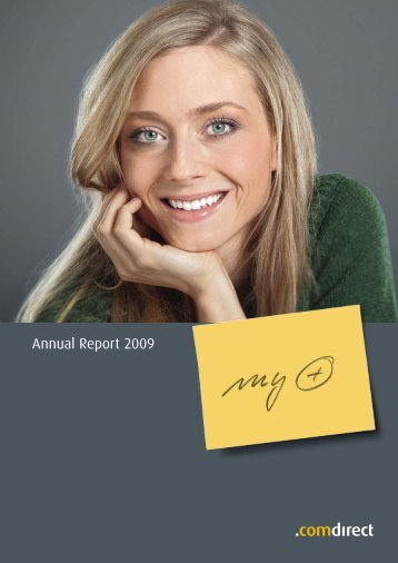 Annual Report 2009 - comdirect bank AG