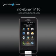 nüvifone™ M10 - Garmin-Asus