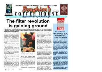 The filter revolution is gaining ground - Boughton's Coffee House