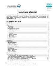 roundcube Webmail - Beuth Hochschule für Technik Berlin