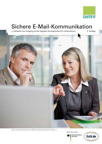 Sichere E-Mail-Kommunikation - Deutschland sicher im Netz