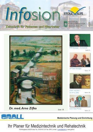 Dr. med. Arno Zifko - LKH Stolzalpe