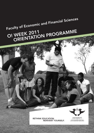 Financial Orient brochure.indd - University of Johannesburg