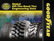 Global Off-The-Road Tire Engineering Data - tadpol