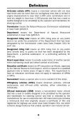 off-highway vehicle reference guide - Iowa Department of Natural ... - Page 6