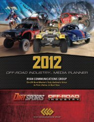 OFF-ROAD INDUSTRYTM - Off-Road Industry Magazine