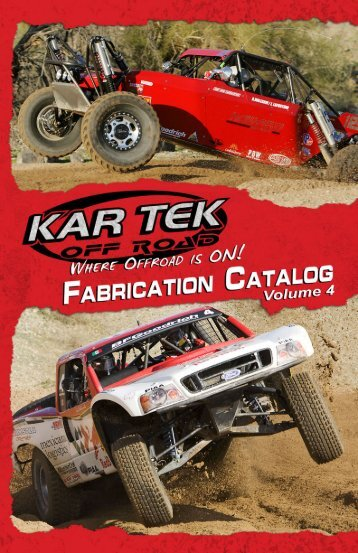 Kartek Off-Road Fabrication Catalog Volume 4