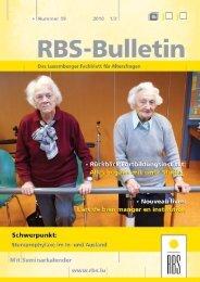 Bulletin Ausgabe Nr. 59 - RBS