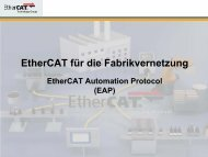 EtherCAT Automation Protocol (EAP)