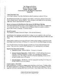 image of Draft Meeting Minutes - Villages at Mt. Hood