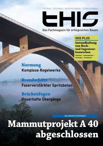 Mammutprojekt A 40 abgeschlossen - Fachmagazin für ...