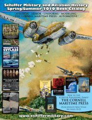 Schiffer Military and Aviation History Spring/Summer ... - Schiffer Books