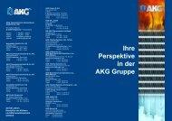 Ihre Perspektive in der AKG Gruppe