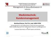 Kommunikationspolitik - Fachgebiet Management im ...
