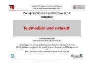 2012 05 8_- CH- _MT_Telemedizin_und_eHealth - Fachgebiet ...