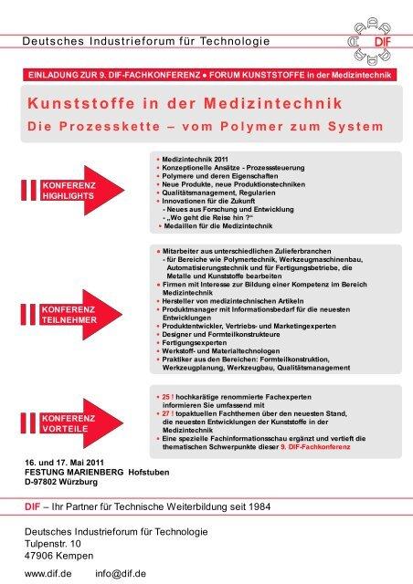 Kunststoffe in der Medizintechnik Die Prozesskette 3 ... - psg-online.de