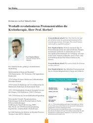 strahlung von der konventionellen Strahlentherapie