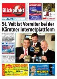 St. Veit ist Vorreiter bei der Kärntner Internetplattform - Pixelpoint ...