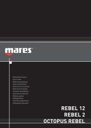 REBEL 12 REBEL 2 OCTOPUS REBEL - Mares