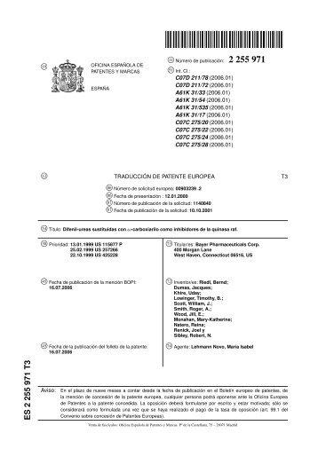Secci n 2 se ales letreros y marcas en el pavimento for Oficina de patentes y marcas europea