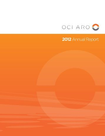 2012 Annual Report - Oclaro