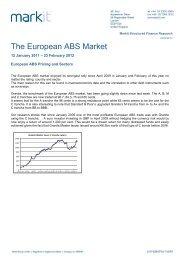 The European ABS Market - Markit.com