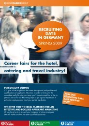 recruiting days in gerMany - Hotelcareer