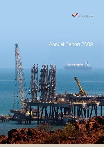 24.02.2010 annual report 2009.pdf - Woodside