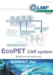 EcoPET Compressed Air Recovery (CAR) - System