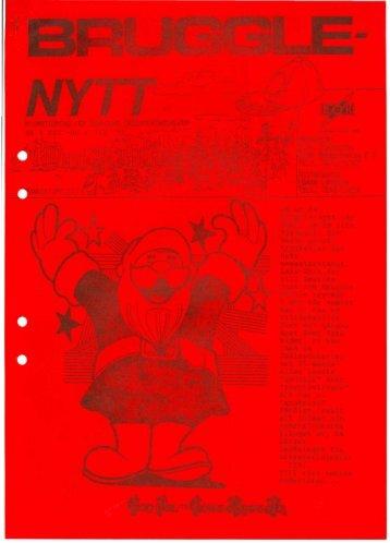 Bruggle december 1990 & januari 1991 - Boxholms OK
