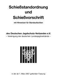 Schießstandordnung und Schießvorschrift - Schützenverein Eula eV