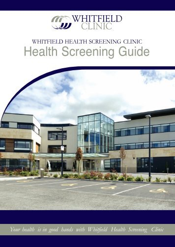 Health Screening Guide - Whitfield Clinic