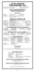2 - Jarlsberg Travbane - Page 2
