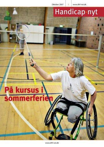På kursus i sommerferien - Dansk Handicap Forbund